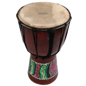 Wooden African Style Hand Drum