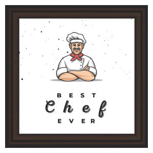Culinary Themed Framed Artwork