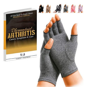 Rheumatoid Arthritis Gloves Fingerless