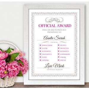 Best Auntie Award