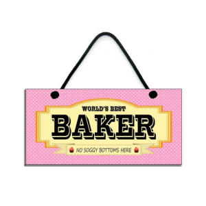 Fun Bakers Handmade Plaque