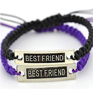 Best Friend Print Bracelet DIY Wristband