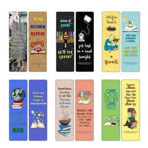 Book Lovers Bookmarks (30-Pack)