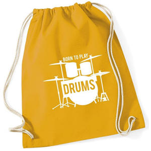 Born to Play Drums Bag