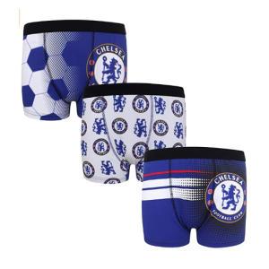 Chelsea FC 3 Pack Boxer Shorts