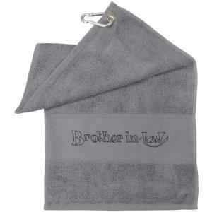 Brother In Law Grey Gym Towel