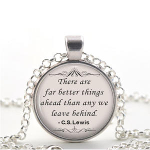 C.S Lewis Quote Necklace
