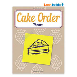 Cake Order Forms
