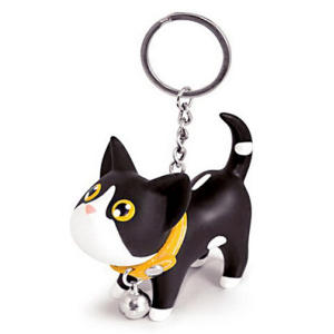 Cat Kitten Keyring