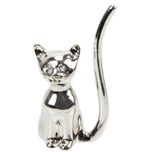 Cat Jewellery Ring Holder