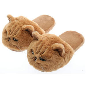 Unisex Kids Cat Slippers