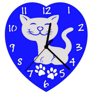 Love My Cat Wall Clock