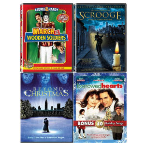 Family Christmas DVD's