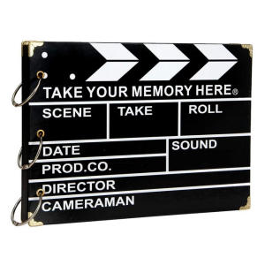 Clapperboard Design Scrap Book