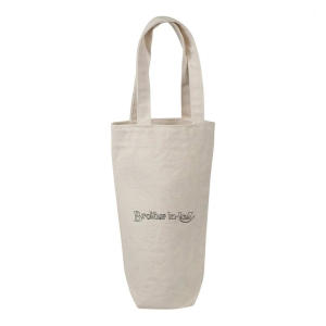 Cotton Wine Bottle Gift / Travel Bag