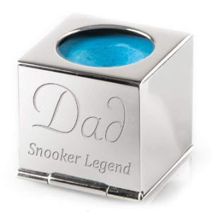 Personalised Snooker Chalk Holder