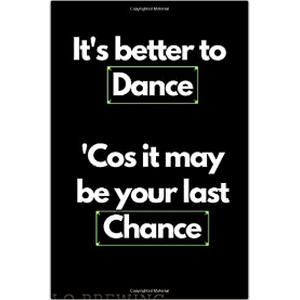 Dance Quote Notebook