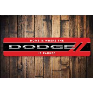 Dodge Car Lover Sign
