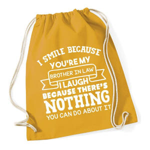 Personalised Drawstring Cotton Bag