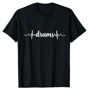Drummers Heartbeat ECG T-Shirt