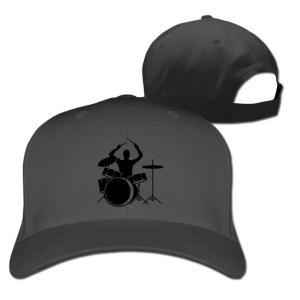 Drummer and Drums Baseball Hat