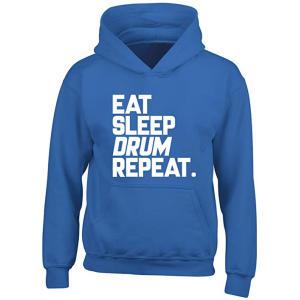 Eat Sleep Drum Repeat Hoodie