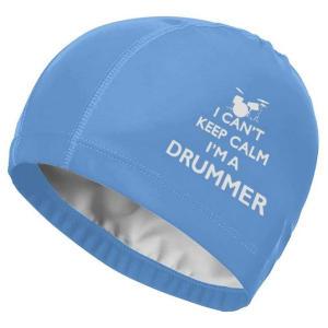 I'm A Drummer Swim Cap