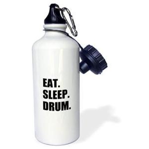 Eat Sleep Drum Water Bottle