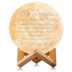 Personalised Moon Lamp