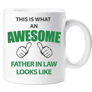 Awesome Father in Law Mug
