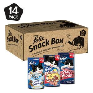 Felix Cat Treats Box
