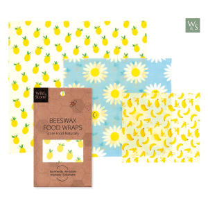 Organic Beeswax Food and Sandwich Wraps