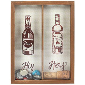 His & Hers Bottle Top Collector