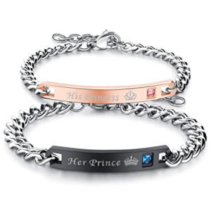 His or Hers Matching Bracelets