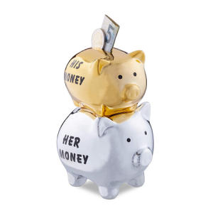 His and Her Piggy Banks