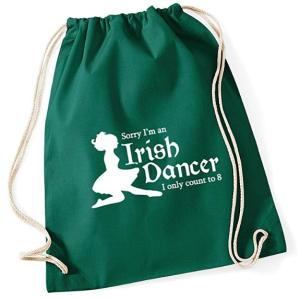 Irish Dancer Drawstring Bag