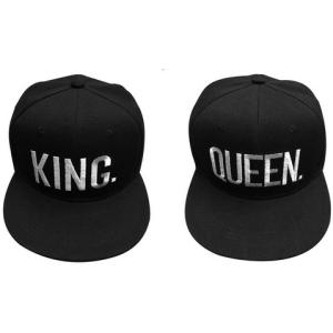 Queen and King Baseball Caps