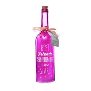 Light-Up Starlight Bottle