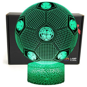 Football Shape Celtic Fans Lamp