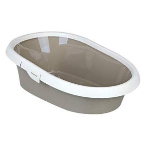Cat Litter Tray with Rim