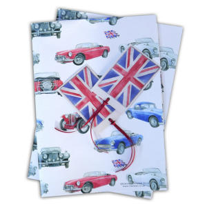 MG Classic Car Gift Wrap