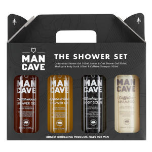ManCave Shower Gift Set