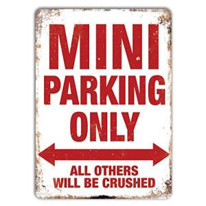Mini Parking Only Plaque