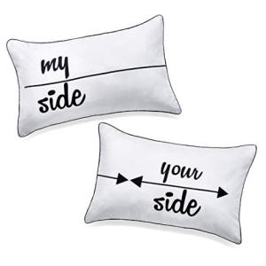 My Side and Your Side Couples Pillowcases