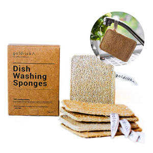 Organic Dishwashing Sponges