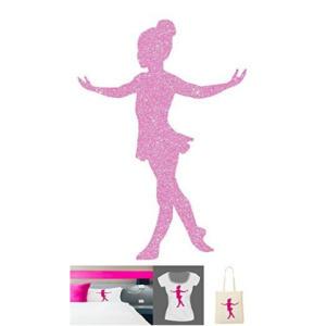 Pattern Dancer Ballerina Glitter