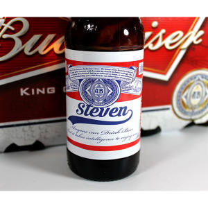 Personalised Beer Bottle Labels