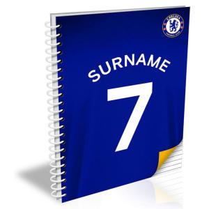 Personalised Chelsea Notebook
