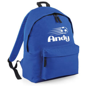 Personalised Football Backpack