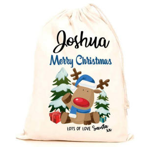 Personalised Name Christmas Sack